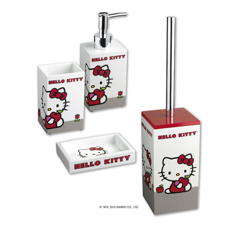 Torna alla ricerca Set accessori bagno Hello Kitty Apple