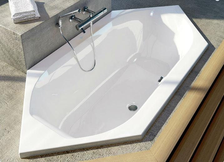 Vasca Da Bagno Ad Angolo Ideal Standard : Vasca esagonale active