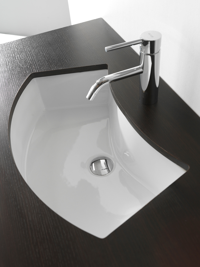 Lavabo sottopiano aral mini - Mini lavabo bagno ...
