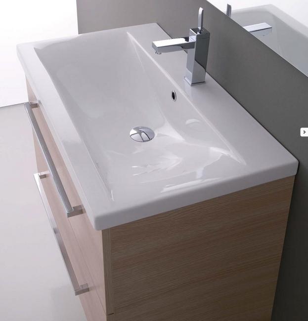 Mobile da bagno sospeso con lavabo Clever 71