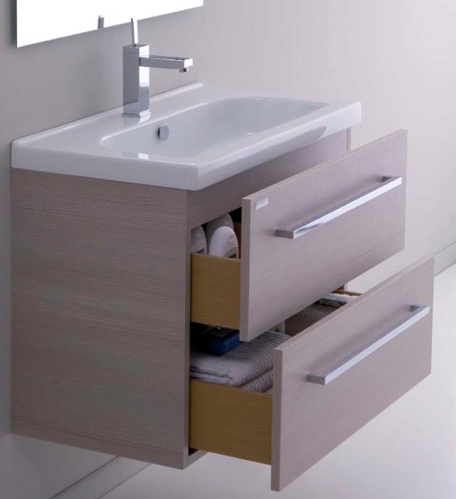Mobile da bagno 71x41 cm beige minitrendy 71 - Mobili lavabo bagno offerte ...