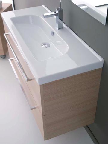 Mobile da bagno sospeso con lavabo minitrendy 71 - Mobile bagno profondita 35 ...