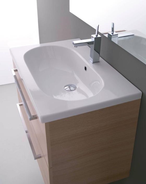 Mobile da bagno sospeso con lavabo pink 101 for Arredo bagno lavabo sospeso