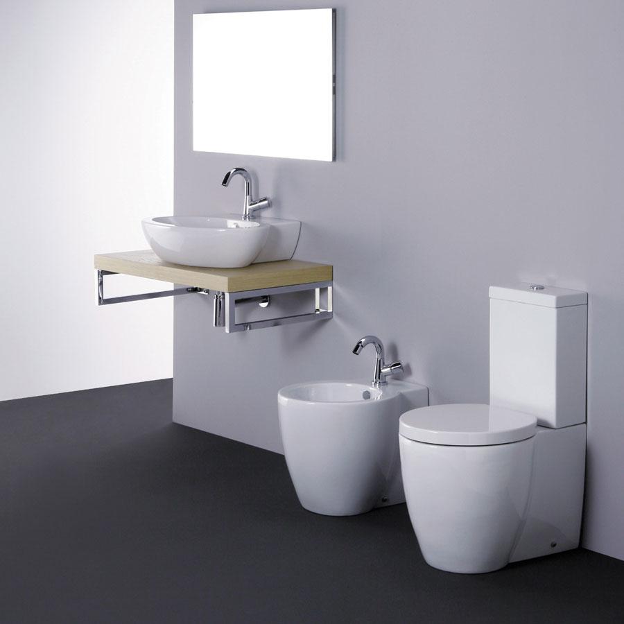 Lavabo 55 cm sanitari monoblocco - Costo sanitari bagno completo ...