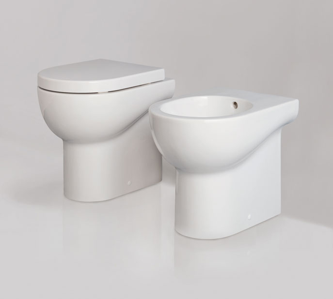 Sanitari bagno minimo ingombro mini nuvola - Sanitari bagno dimensioni ...