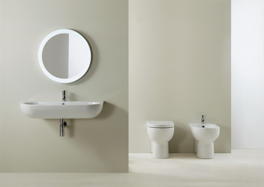 Sanitari nuvola lavabo 90 cm - Costo sanitari bagno completo ...