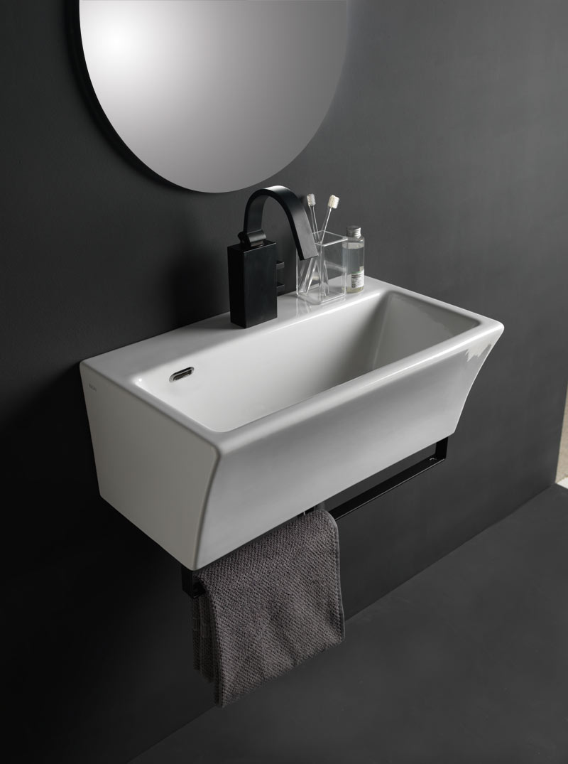 Lavabo block 60x35 cm for Mobili 90 x 60