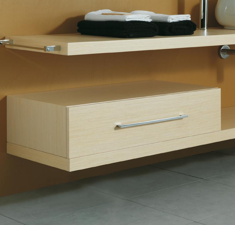 Cassetto sottotop 80x50h20 cm - Cassettiere per bagno ...