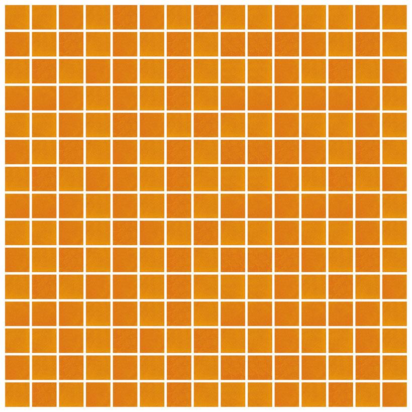 Mosaico glass classic arancio - Fanno i bagni coloranti ...