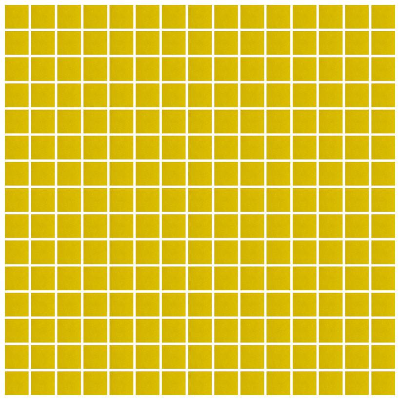 Mosaico glass classic giallo - Fanno i bagni coloranti ...