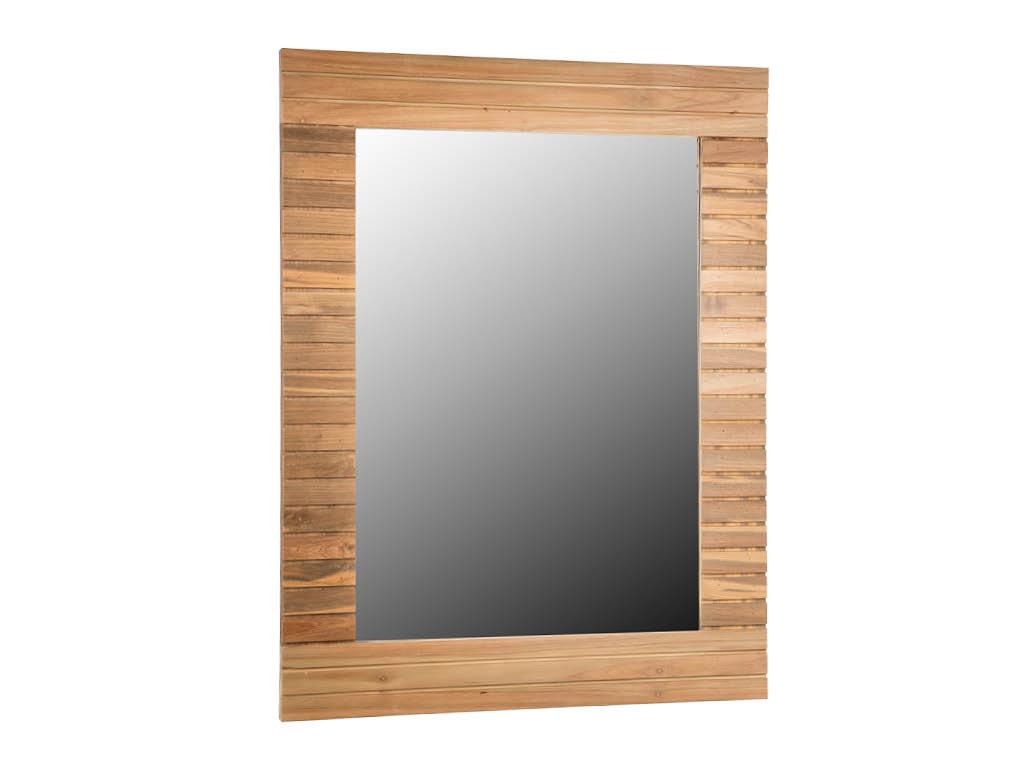 Specchio da bagno stripes 70x90 cm for Specchio bagno profilo alluminio