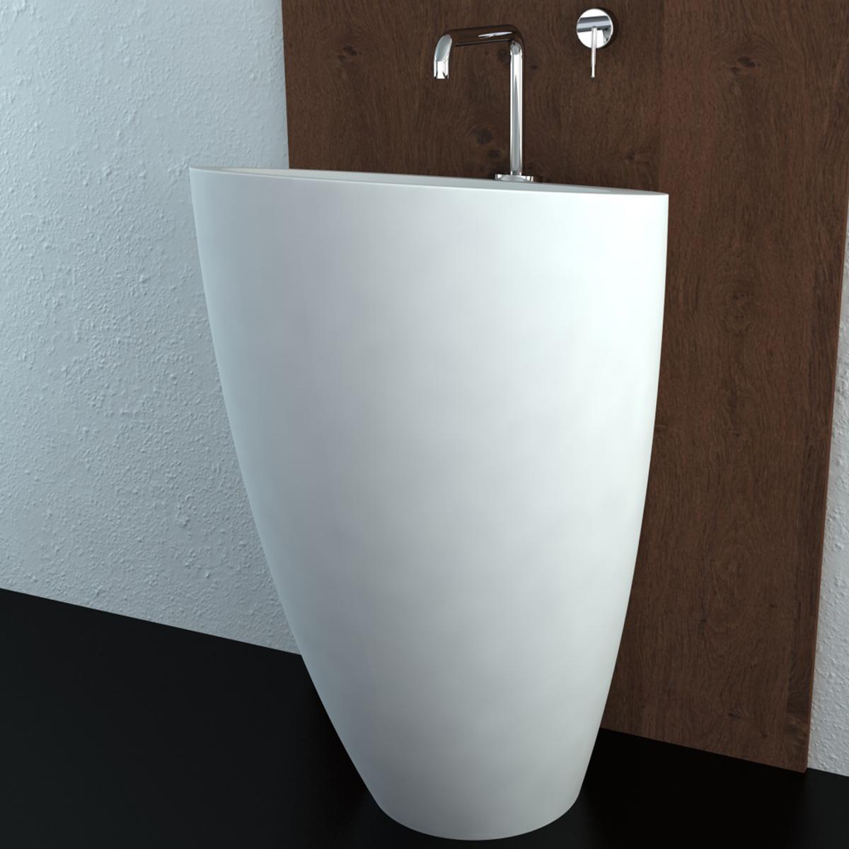 Lavabo colonna dante - Mobile per lavabo a colonna ...