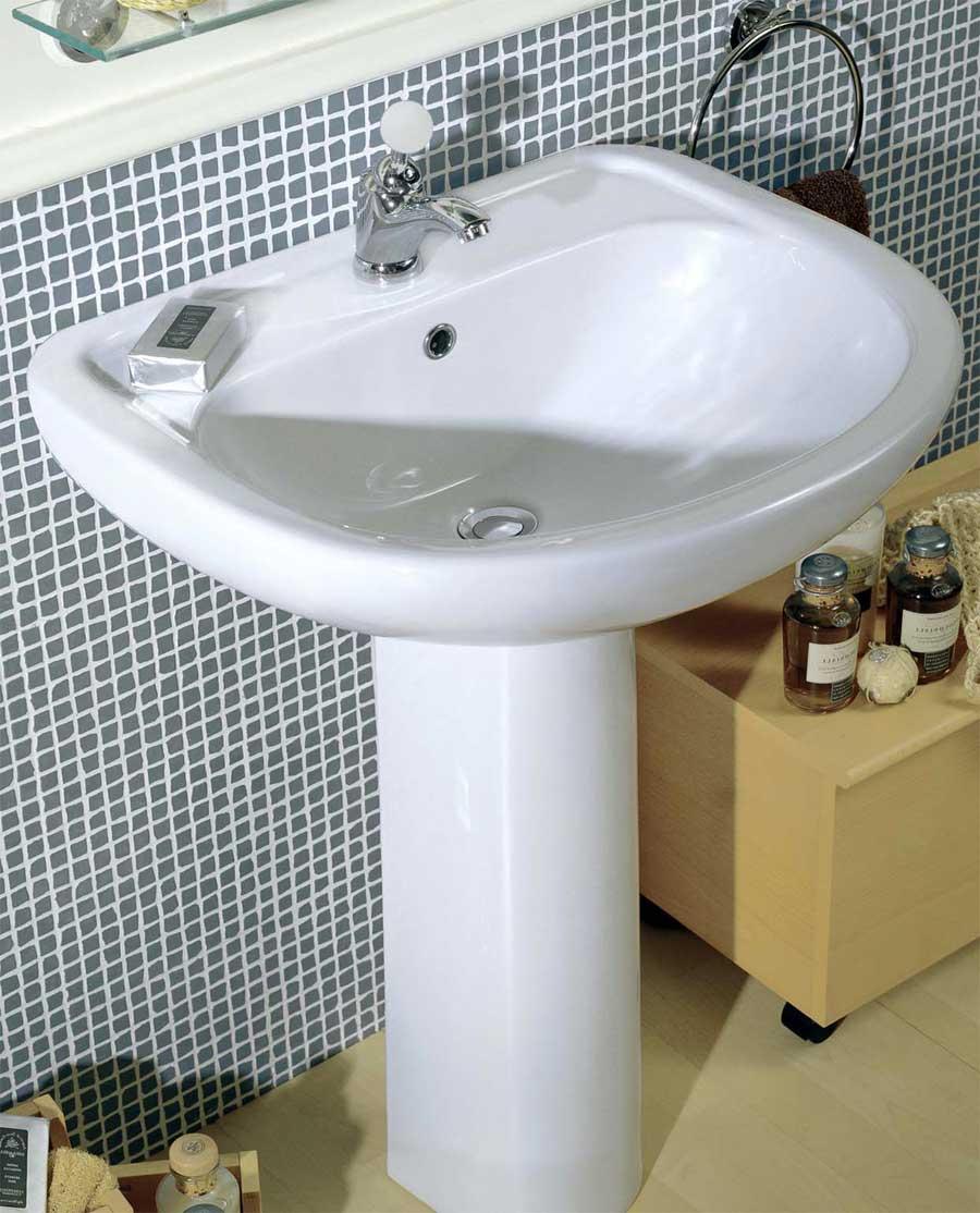 Lavabo diana su colonna for Prezzi lavabo bagno