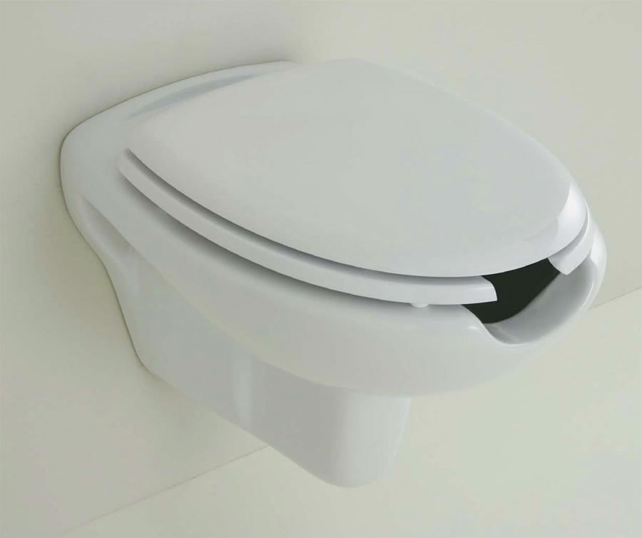 Vaso bidet sospeso con apertura - Accessori bagno disabili ...