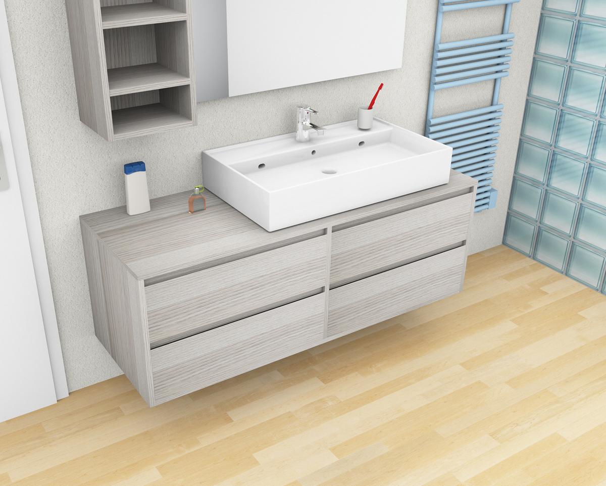 Mobile bagno sospeso frame for Arredo bagno offerte