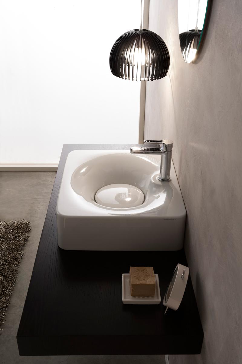 Lavabo 50 x 43 cm fuji 50r - Lavabo bagno 50 cm ...