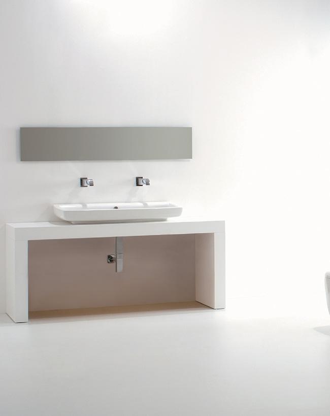 Panca 175 con lavabo Lilac 105cm