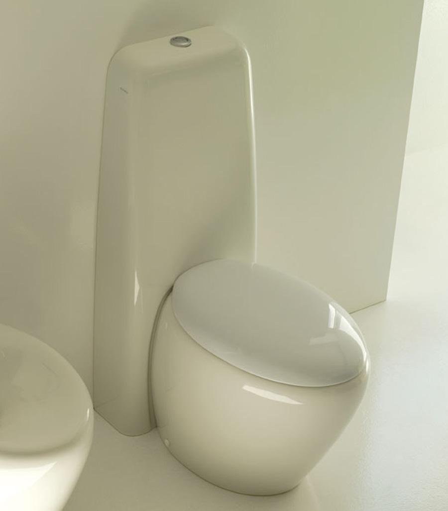 Cassetta a colonna per wc touch - Cassetta scarico acqua bagno ...