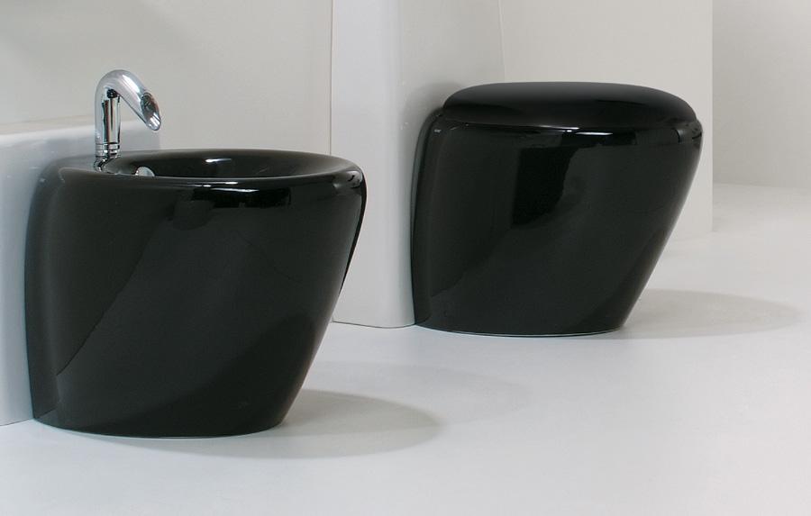 Sanitari bagno neri Touch