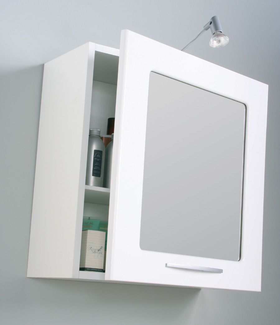 Specchio contenitore grande idee creative di interni e - Lillangen mobile specchio ...