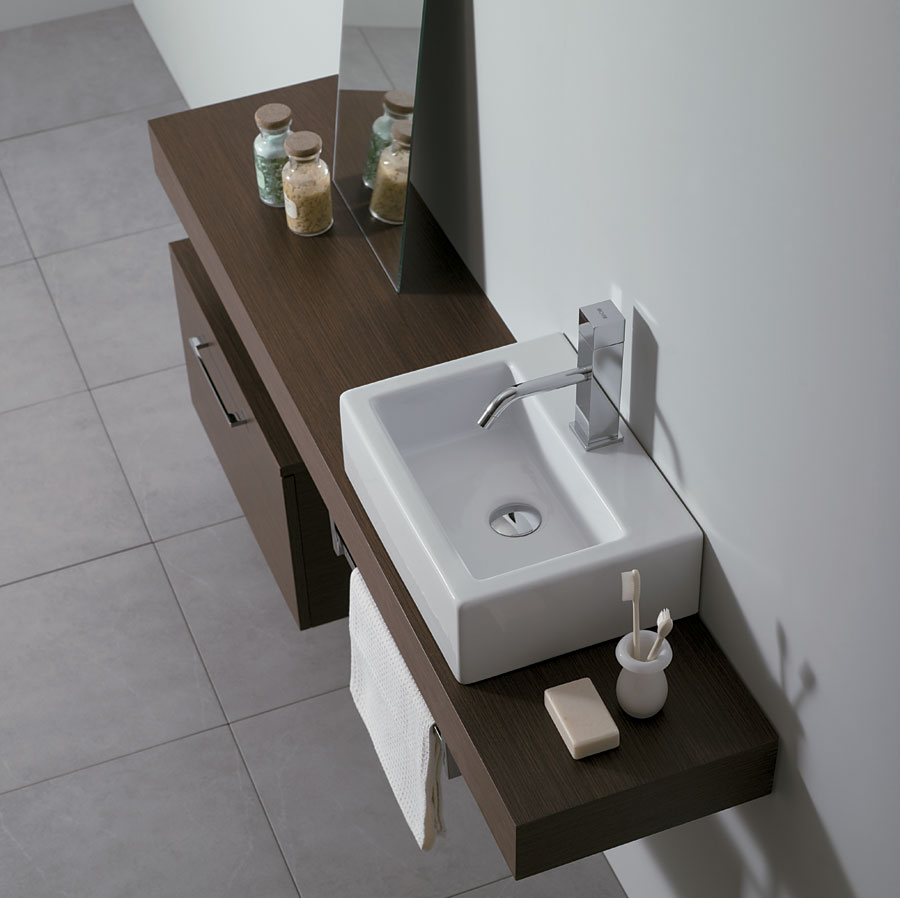 Piano per lavabo TOP-H10 cm SLIM