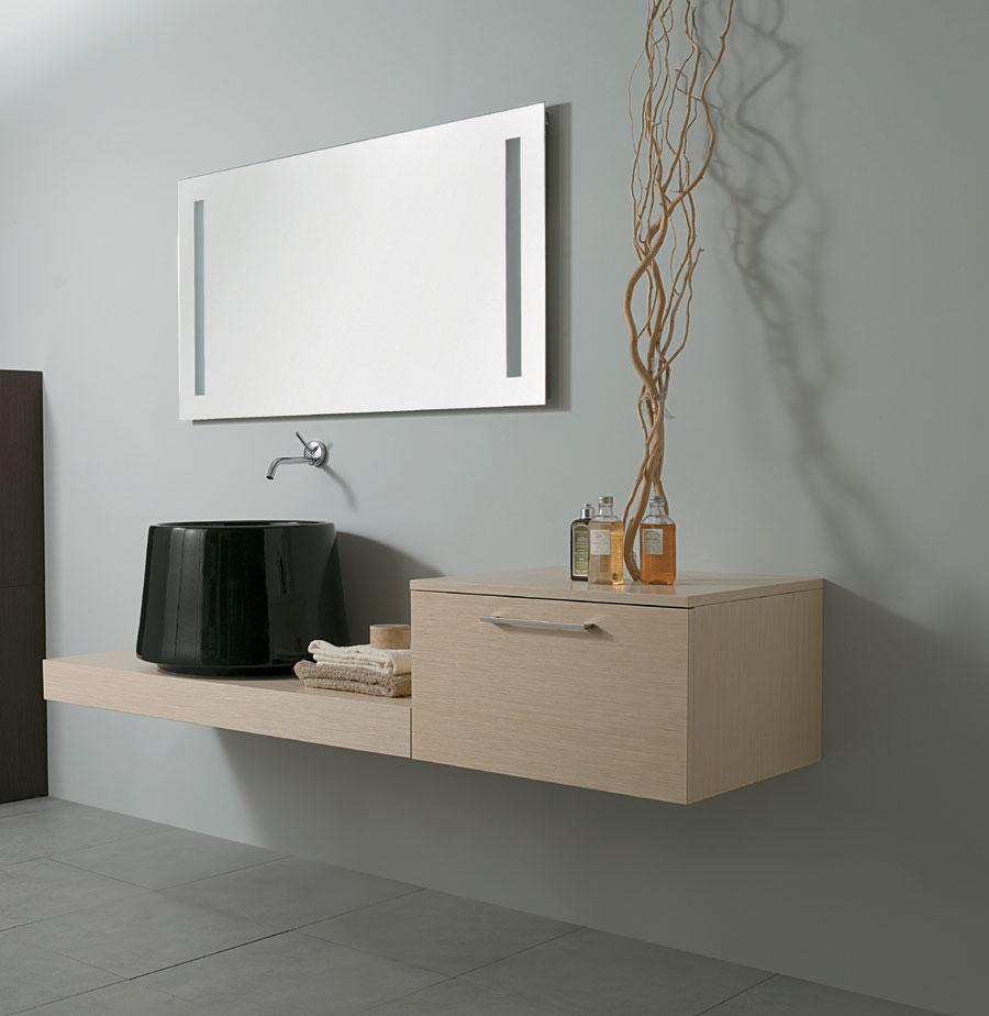 Top bagno con mobile zen - Arredo bagno zen ...