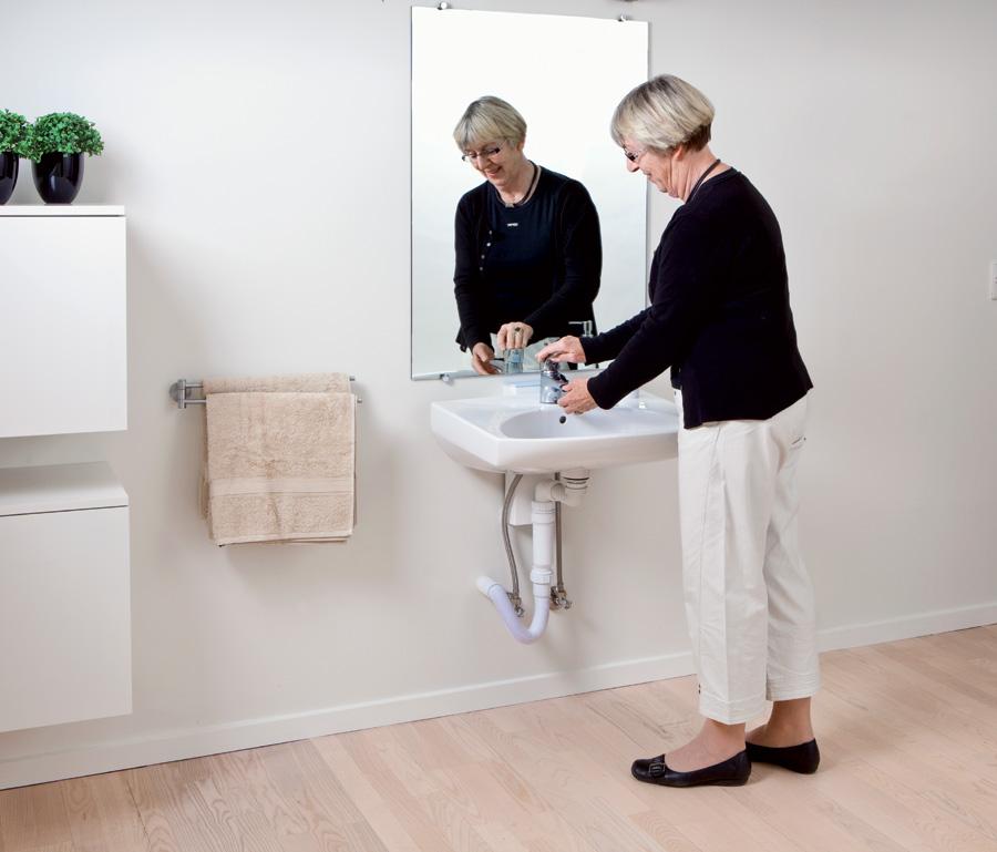 lavabo regolabile in altezza - Altezza Lavabo Bagno Disabili