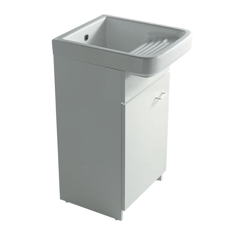 Mobile e lavatoio 45x53 cm minerva - Mobile lavatoio ...