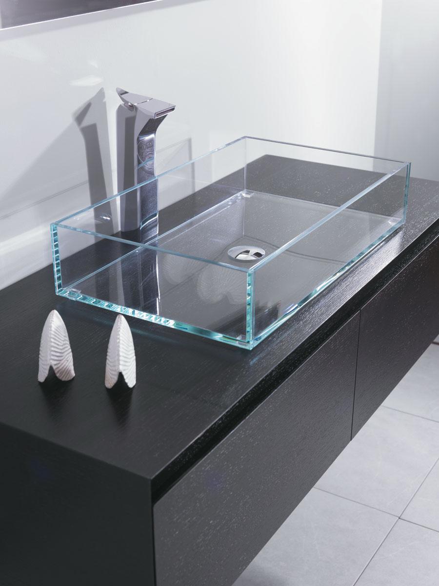 Lavabo in vetro 40 cm