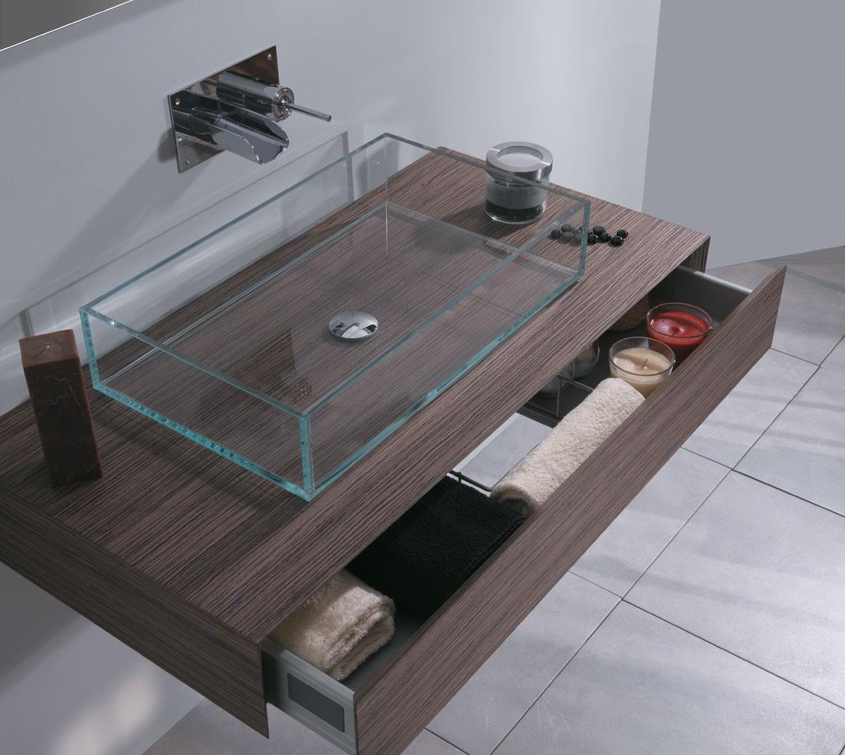 Lavabo in vetro 60 cm - Lavabo bagno prezzi ...