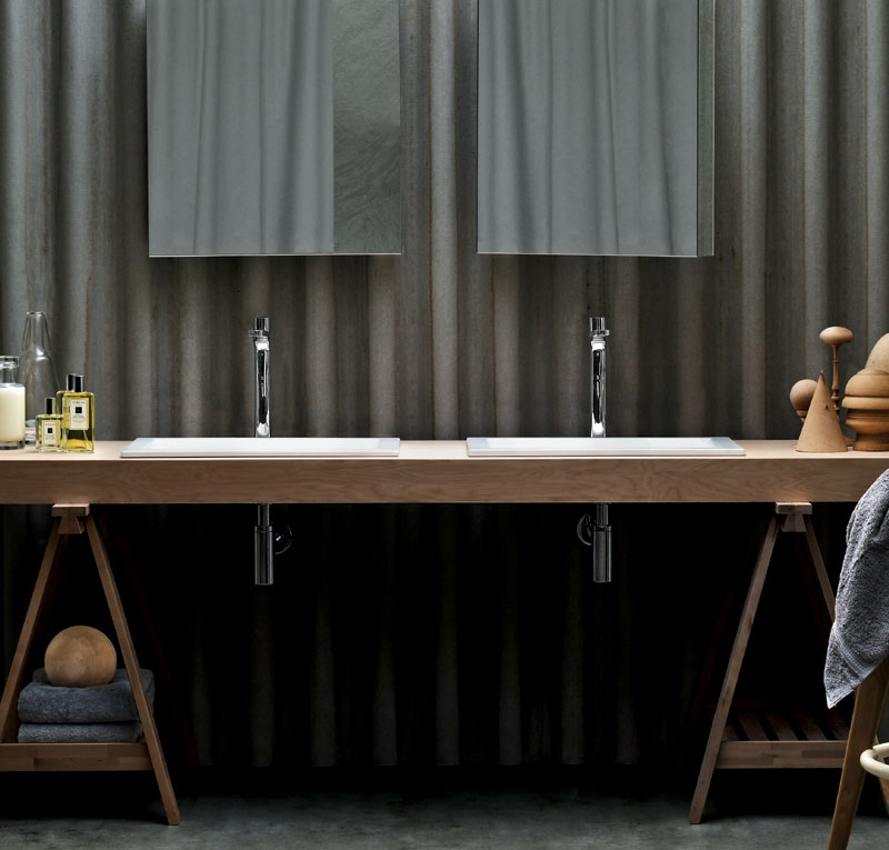 Lavabo con mobile thin for Offerte mobile bagno con lavabo