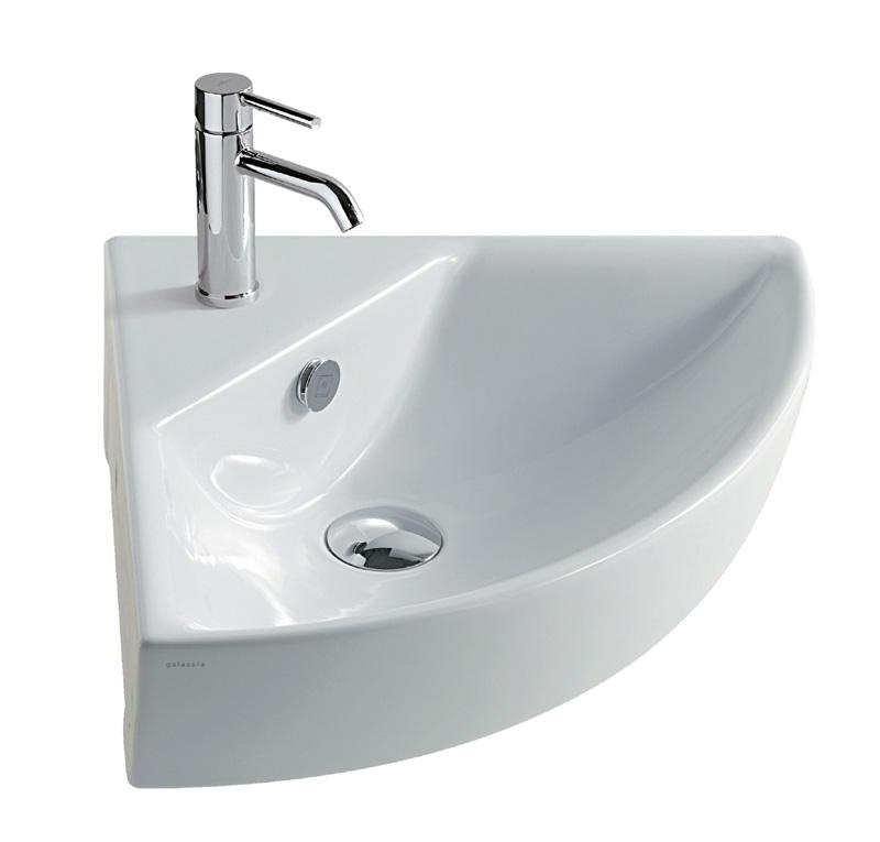Lavabo angolare 45 m2 for Sanitari bagno prezzi ikea