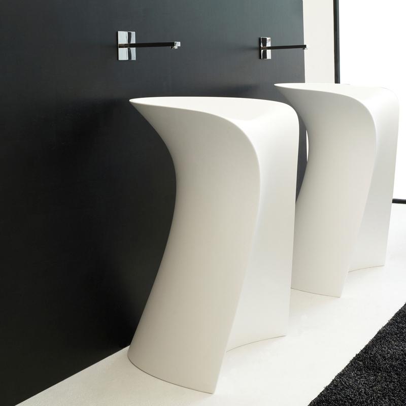 lavabi d arredo lavabo d 39 arredo miss bianco lucido