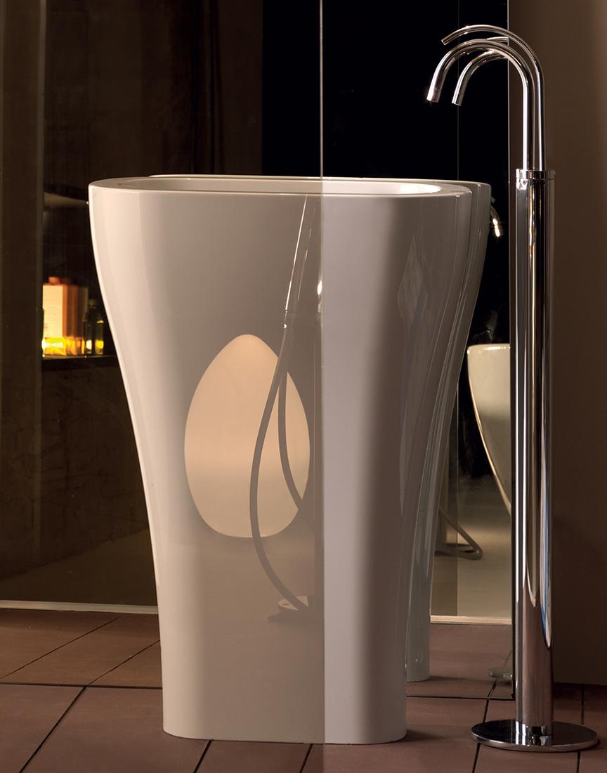 Lavabo A Colonna Design torna alla ricerca
