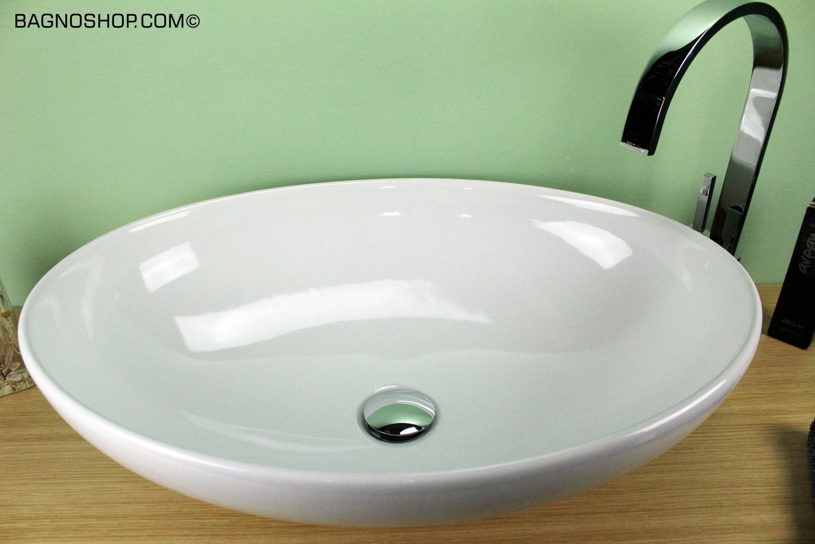 Lavabo ovale softly 60 cm for Lavabo softly