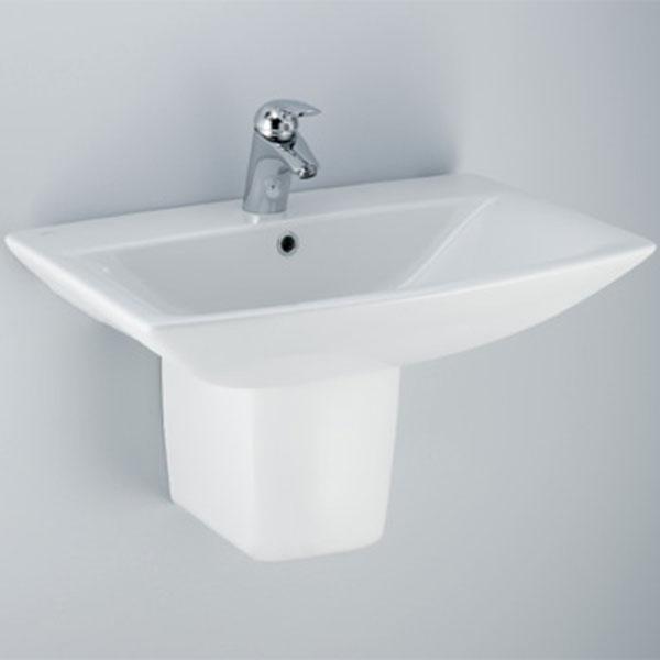 lavabo 70 su semicolonna cantica