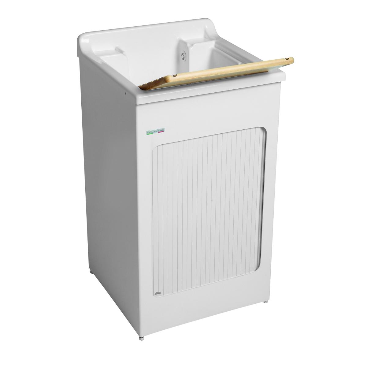 Lavatoio da esterno con mobile 60x50x87 lavacril for Coprilavatrice da esterno