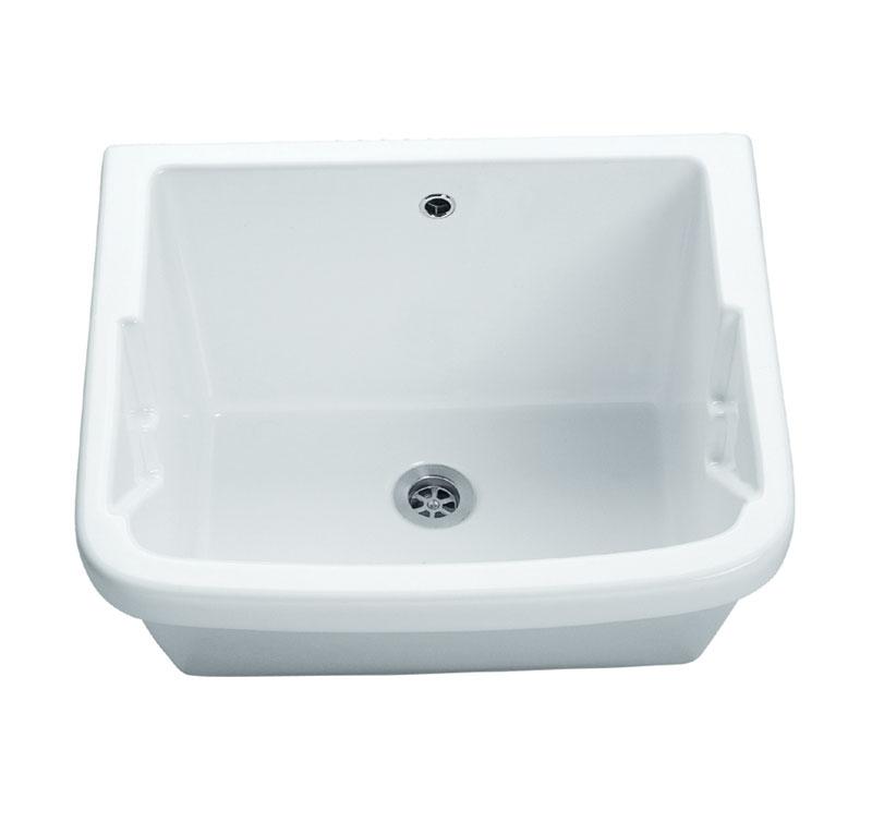 Mobili lavelli lavabo in ceramica per lavanderia for Lavello per lavanderia