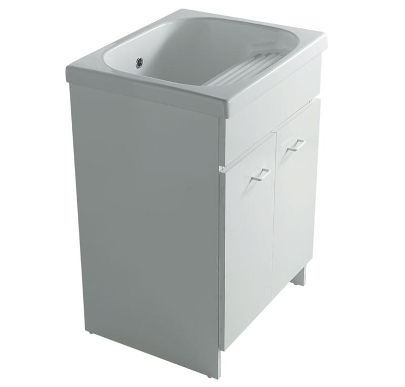 Mobile con lavatoio 60x50 cm in ceramica venere - Mobile lavatoio ...