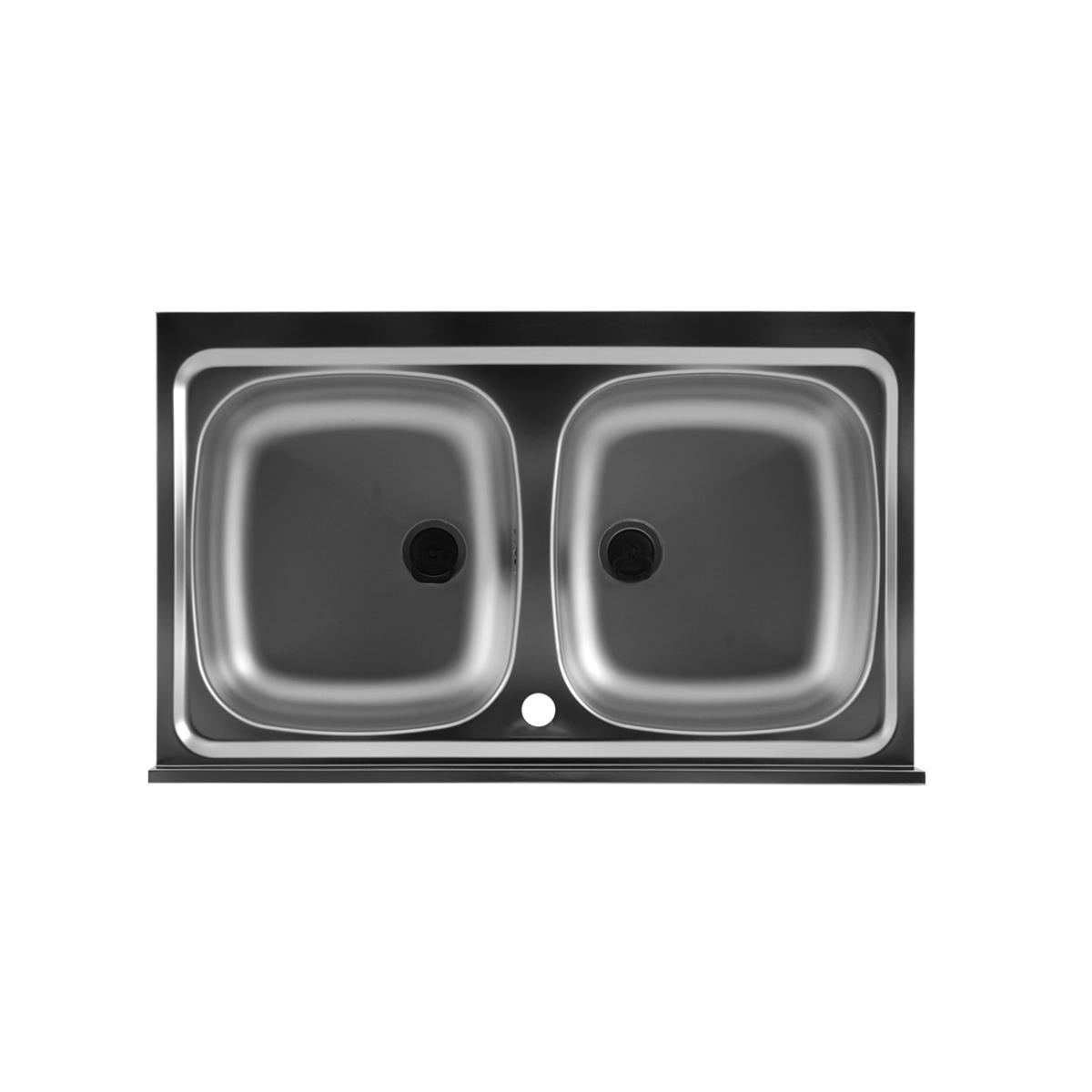 Lavello inox 90x50 con doppia vasca - Lavandino doppia vasca cucina ...