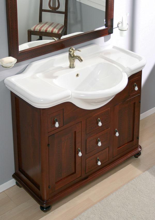 Arredo bagno classico tintoretto for Mobili da bagno ikea prezzi