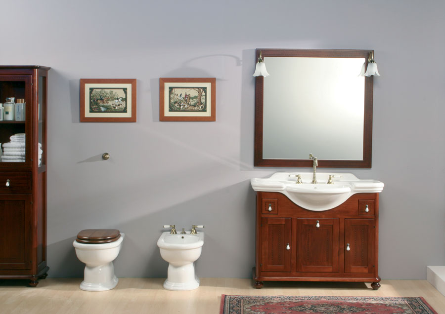 Mobili bagno classico tintoretto 2 for Mobili bagno classici offerte