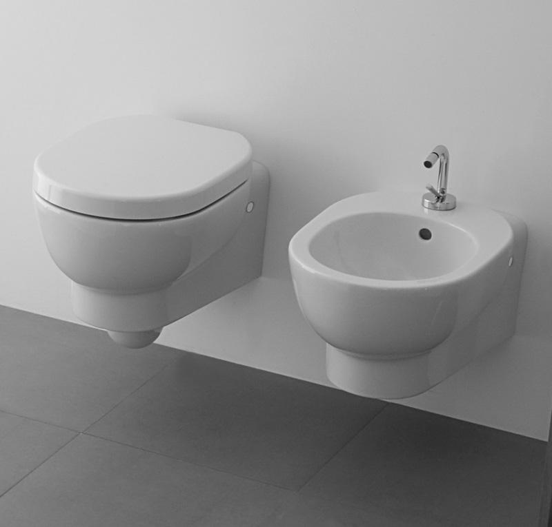 Sanitari bagno sospesi 50 m2 for Galassia ceramica