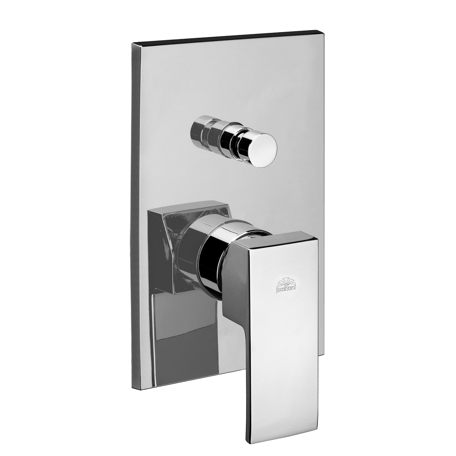 Miscelatore con deviatore doccia level - Miscelatori bagno paffoni ...