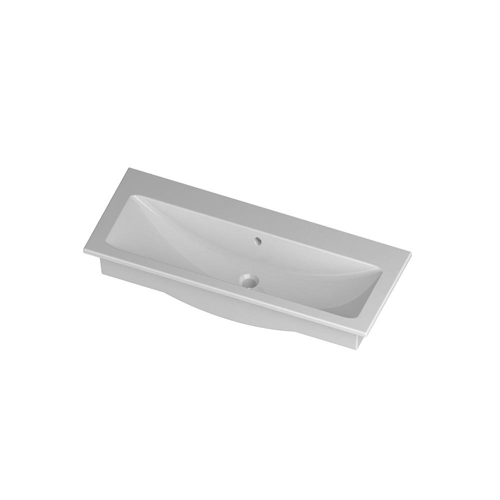 lavabo 100 cm ceramica mini light. Black Bedroom Furniture Sets. Home Design Ideas