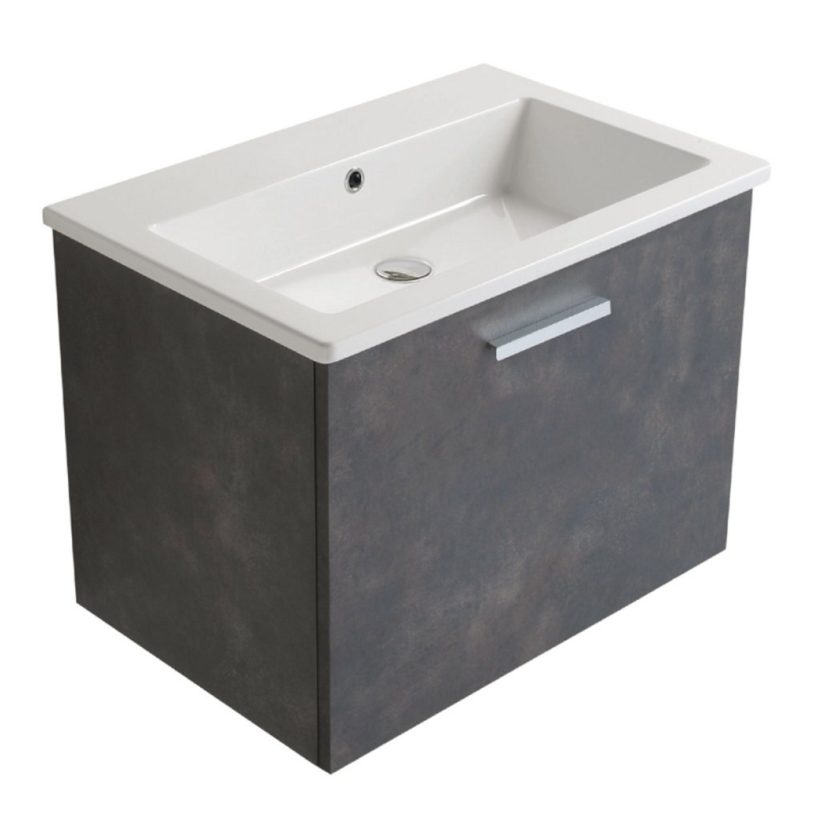 Mobile base con lavabo 70x47x50 cm Forty3