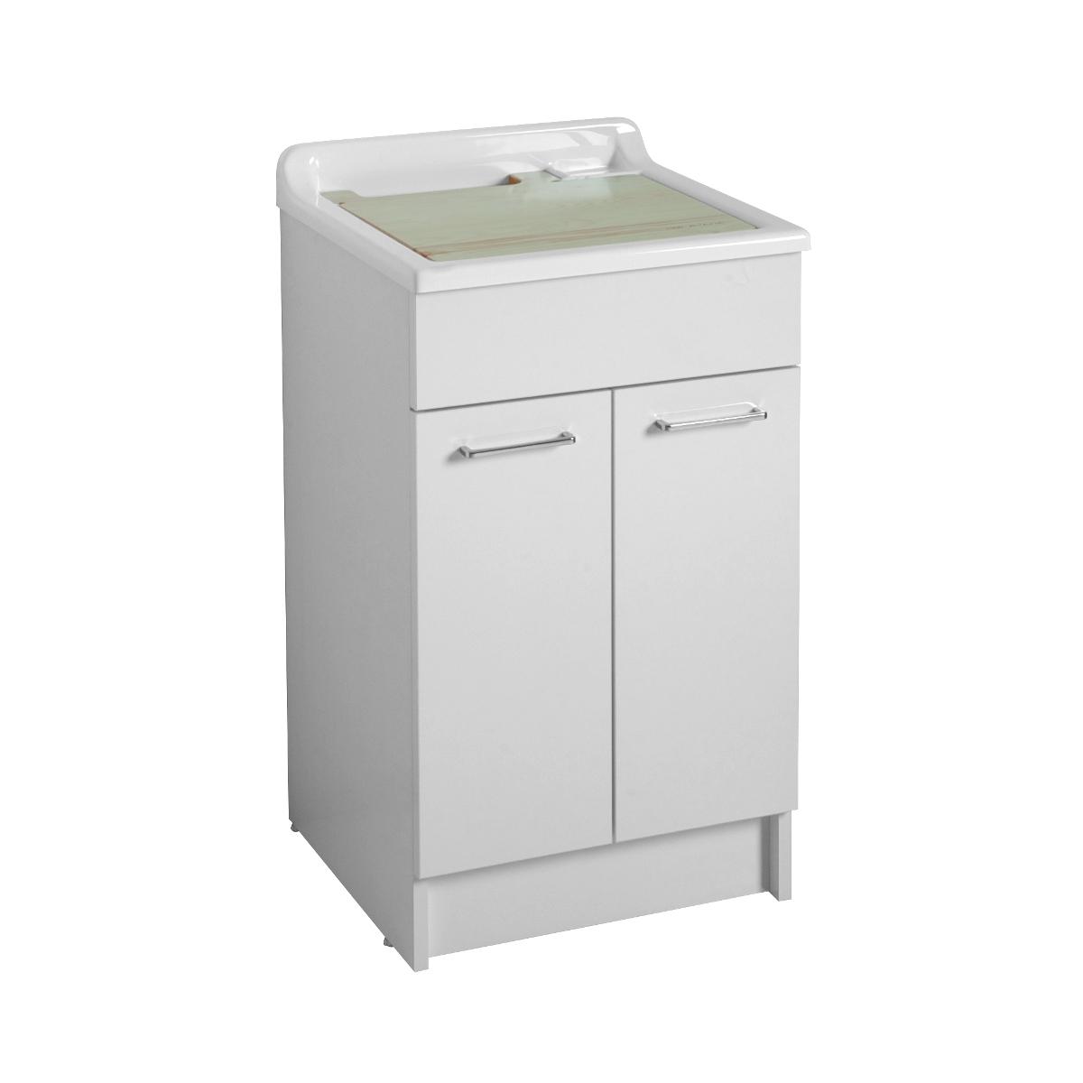 Mobile con lavatoio lavanderia 50x50x86h swash - Mobile con lavatoio ...