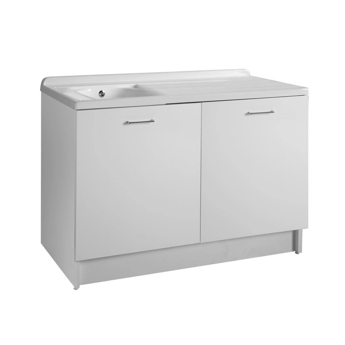 Mobile a due ante con lavatoio elettronico 130x65x89 Active Wash
