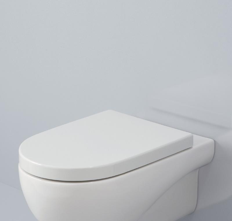 Tavoletta wc ammortizzata boiserie in ceramica per bagno for Copriwater leroy