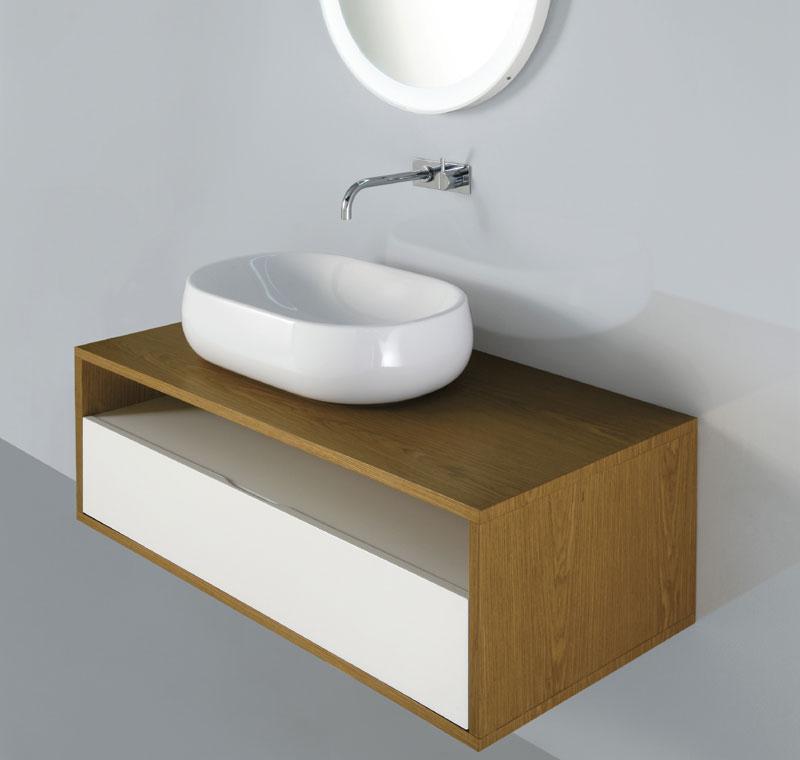 Lavabo 60x40 cm for Mobile lavabo appoggio